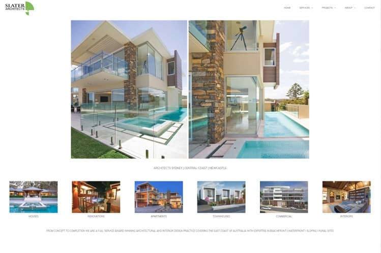 Architect Website - Central Coast