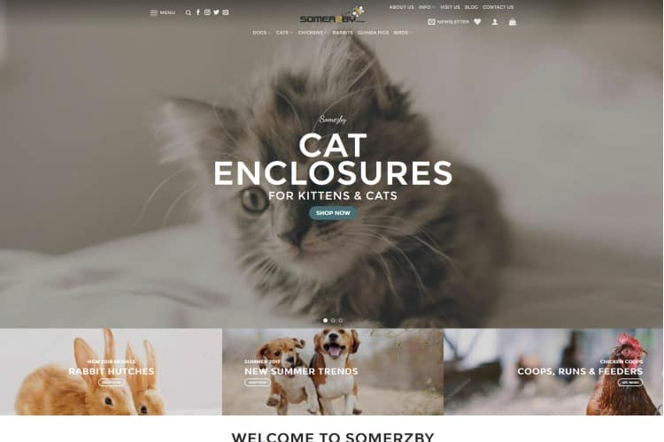 Pet Products Ecommerce Website - Sydney