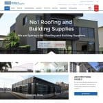 Roofing Supplies Website - Sydney