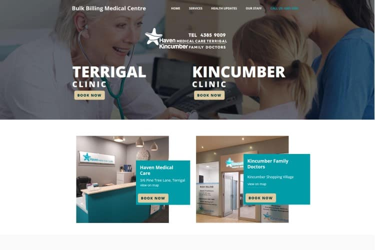 Terrigal Medical Centre Website - Central Coast